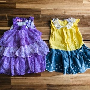 ❌SOLD❌ 2 Girls 3t Adorable Tops